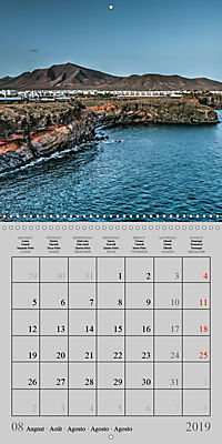 LANZAROTE Created by Volcanoes (Wall Calendar 2019 300 × 300 mm Square) - Produktdetailbild 8