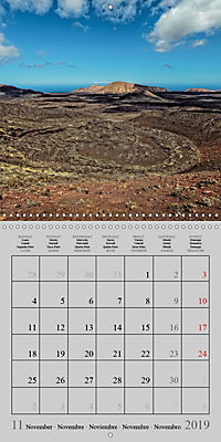 LANZAROTE Created by Volcanoes (Wall Calendar 2019 300 × 300 mm Square) - Produktdetailbild 11
