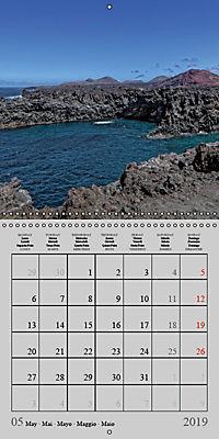 LANZAROTE Created by Volcanoes (Wall Calendar 2019 300 × 300 mm Square) - Produktdetailbild 5