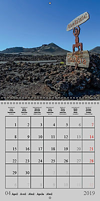 LANZAROTE Created by Volcanoes (Wall Calendar 2019 300 × 300 mm Square) - Produktdetailbild 4