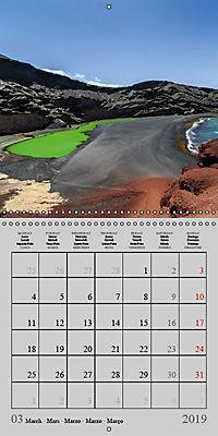 LANZAROTE Created by Volcanoes (Wall Calendar 2019 300 × 300 mm Square) - Produktdetailbild 3