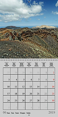 LANZAROTE Created by Volcanoes (Wall Calendar 2019 300 × 300 mm Square) - Produktdetailbild 6