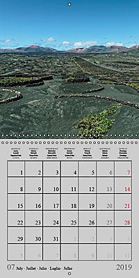 LANZAROTE Created by Volcanoes (Wall Calendar 2019 300 × 300 mm Square) - Produktdetailbild 7