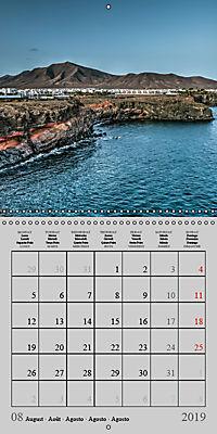 LANZAROTE Created by Volcanoes (Wall Calendar 2019 300 × 300 mm Square) - Produktdetailbild 8