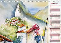 Lanzarote und Teneriffa - Aquarelle (Tischkalender 2019 DIN A5 quer) - Produktdetailbild 10