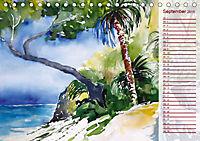 Lanzarote und Teneriffa - Aquarelle (Tischkalender 2019 DIN A5 quer) - Produktdetailbild 9