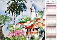 Lanzarote und Teneriffa - Aquarelle (Tischkalender 2019 DIN A5 quer) - Produktdetailbild 12