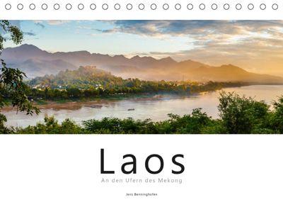 Laos - An den Ufern des Mekong (Tischkalender 2019 DIN A5 quer), Jens Benninghofen