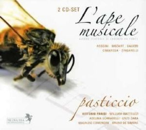 L'Ape Musicale (Pasticcio), Parisi, Matteuzzi, Scarabelli