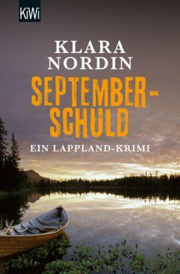 Lappland-Krimi Band 2: Septemberschuld, Klara Nordin