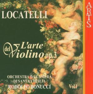 L'Arte del Violino Op. 3 Vol. 1, St.Cecilia Camera Orchestra