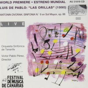 Las Orillas/Sinf.8 Op.88, So Tenerife, Perez