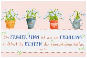 Lass jeden Tag Wunder geschehen, Postkartenbuch