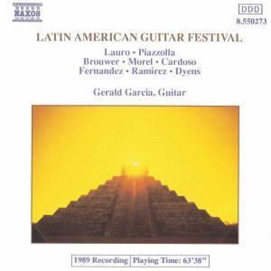 Lateinamerik. Gitarrenfestival, Gerald Garcia
