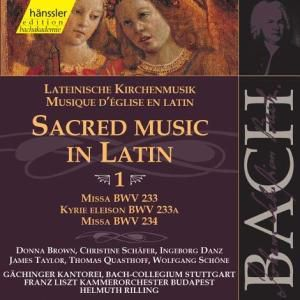 Lateinische Kirchenmusik Vol.1, Johann Sebastian Bach