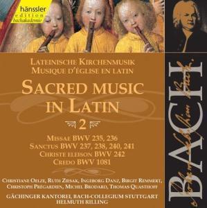 Lateinische Kirchenmusik Vol.2, Johann Sebastian Bach