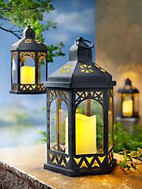 Laterne mit LED-Kerze - Produktdetailbild 2
