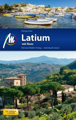Latium mit Rom, m. 1 Karte, Florian Fritz