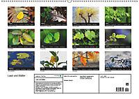 Laub und Blätter 2019 (Wandkalender 2019 DIN A2 quer) - Produktdetailbild 13