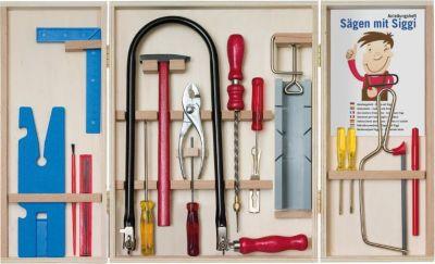 Laubsägeschrank inkl. Werkzeug