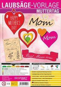 Laubsägevorlage Muttertag