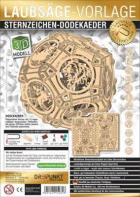 Laubsägevorlage Sternzeichen-Dodekaeder -  pdf epub