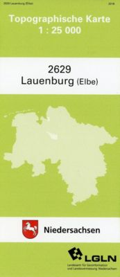 Lauenburg (Elbe) 1 : 25 000. (TK 2629/N)