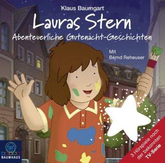 Lauras Stern - Abenteuerliche Gutenacht-Geschichten, Audio-CD, Klaus Baumgart, Cornelia Neudert