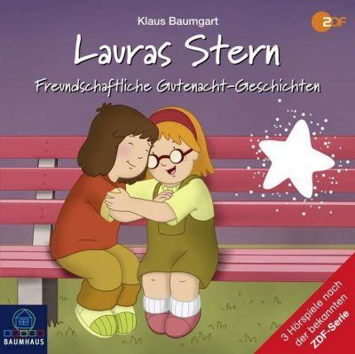 Lauras Stern - Freundschaftliche Gutenacht-Geschichten, 1 Audio-CD - Klaus Baumgart pdf epub