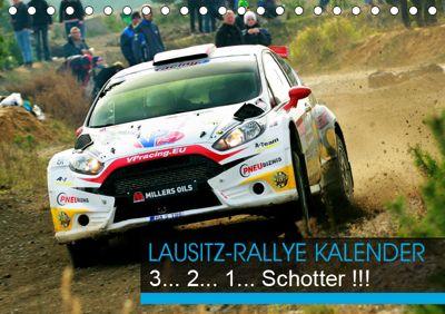 Lausitz-Rallye Kalender (Tischkalender 2019 DIN A5 quer), Patrick Freiberg