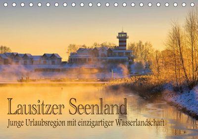 Lausitzer Seenland - Junge Urlaubsregion mit einzigartiger Wasserlandschaft (Tischkalender 2019 DIN A5 quer), LianeM