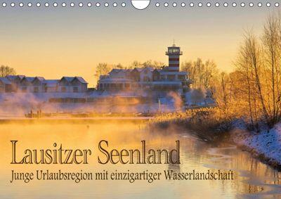 Lausitzer Seenland - Junge Urlaubsregion mit einzigartiger Wasserlandschaft (Wandkalender 2019 DIN A4 quer), k.A. LianeM