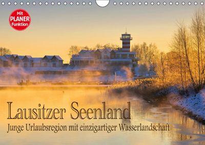 Lausitzer Seenland - Junge Urlaubsregion mit einzigartiger Wasserlandschaft (Wandkalender 2019 DIN A4 quer), LianeM