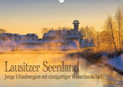 Lausitzer Seenland - Junge Urlaubsregion mit einzigartiger Wasserlandschaft (Wandkalender 2019 DIN A3 quer), LianeM
