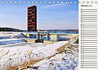 Lausitzer Seenland - Junge Urlaubsregion mit einzigartiger Wasserlandschaft (Tischkalender 2019 DIN A5 quer) - Produktdetailbild 1