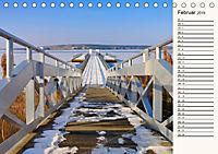 Lausitzer Seenland - Junge Urlaubsregion mit einzigartiger Wasserlandschaft (Tischkalender 2019 DIN A5 quer) - Produktdetailbild 2