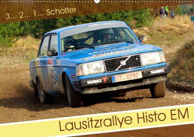 Lausitzrallye Histo EM (Wandkalender 2019 DIN A2 quer), Patrick Freiberg