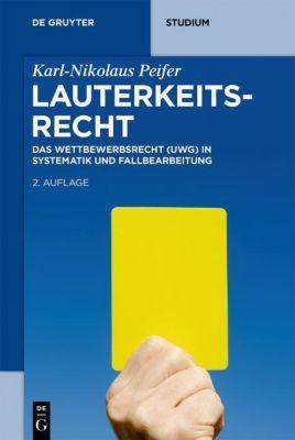 Lauterkeitsrecht, Karl-Nikolaus Peifer