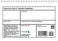 Lautlos durch die Luft - Faszination Segelfliegen (Tischkalender 2019 DIN A5 quer) - Produktdetailbild 8