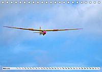 Lautlos durch die Luft - Faszination Segelfliegen (Tischkalender 2019 DIN A5 quer) - Produktdetailbild 4
