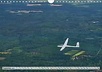 Lautlos durch die Luft - Faszination Segelfliegen (Wandkalender 2019 DIN A4 quer) - Produktdetailbild 9