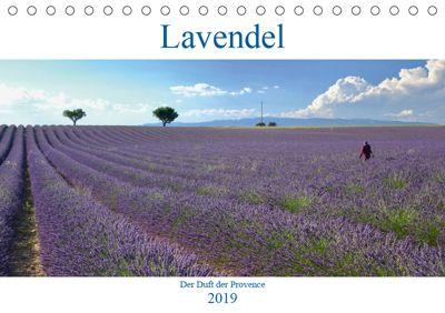 Lavendel. Der Duft der Provence (Tischkalender 2019 DIN A5 quer), Reinhard Werner