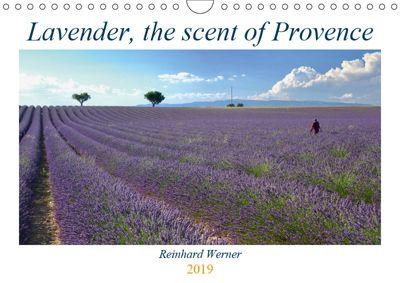 Lavender, the scent of Provence (Wall Calendar 2019 DIN A4 Landscape), Reinhard Werner