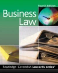 Law Cards: Cavendish: Business Lawcards, Routledge-Cavendish