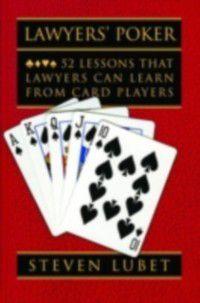 Lawyers' Poker, Steven Lubet