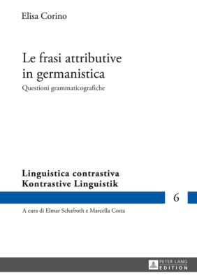 Le frasi attributive in germanistica, Elisa Corino