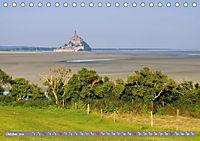 Le Mont-Saint-Michel - Sagenumwobener Klosterberg im Watt (Tischkalender 2019 DIN A5 quer) - Produktdetailbild 10