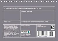 Le Mont-Saint-Michel - Sagenumwobener Klosterberg im Watt (Tischkalender 2019 DIN A5 quer) - Produktdetailbild 13