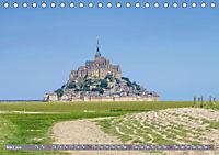 Le Mont-Saint-Michel - Sagenumwobener Klosterberg im Watt (Tischkalender 2019 DIN A5 quer) - Produktdetailbild 3