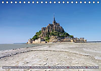 Le Mont-Saint-Michel - Sagenumwobener Klosterberg im Watt (Tischkalender 2019 DIN A5 quer) - Produktdetailbild 1